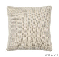 Weave - Monterey Cushion - Sandstorm (Pack of 2)    Cusion Fabric - Beige, Weave
