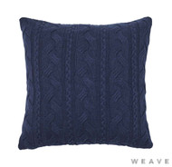 Weave - Miramar Cushion - Pigment (Pack of 2)  | Cusion Fabric - Blue, Stripe, Weave