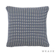 Weave - Sausalito Cushion - Pigment (Pack of 2)  | Cusion Fabric - Blue, Geometric, Multi-Coloured, Weave