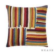 Weave - Masala Cushion - Sumac (Pack of 2)  | Cusion Fabric - Multi-Coloured, Weave