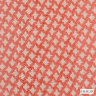 B. Berger - 71058-33 - Persimmon    Upholstery Fabric - Burgundy, Fire Retardant, Red, Silver, Fibre Blends, Ikat, Small Scale, Diamond - Harlequin, Dry Clean, Standard Width