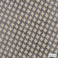B. Berger - 71058-296 - Pewter    Upholstery Fabric - Brown, Fire Retardant, Silver, Fibre Blends, Ikat, Small Scale, Diamond - Harlequin, Dry Clean, Standard Width