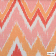 B. Berger - 72077-3 - Melon  | Curtain & Upholstery fabric - Burgundy, Red, Silver, Natural Fibre, Pink, Purple, Chevron, Zig Zag, Dry Clean, Natural, Print, Standard Width