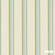 330955 'Stripe' | Curtain Fabric - Fire Retardant, Green, Natural fibre, Stripe, Traditional, Domestic Use, Natural, Suitable for Blinds