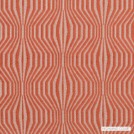 Highland Court - Hu16235-451 - Synergy - Papaya  | Upholstery Fabric - Fire Retardant, Fibre Blends, Geometric, Midcentury, Chenille, Chevron, Zig Zag, Dry Clean, Moire
