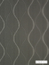 Pegasus Chicane - Sterling  | Curtain Fabric - Silver, Eclectic, Fiber blend, Geometric, Midcentury, Transitional, Domestic Use, Dry Clean