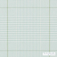 Bailey Griffin - 190236H-601 - Low Land Plaid - Aqua/Green    Upholstery Fabric - Blue, Check, Natural Fibre, Turquoise, Teal, Commercial Use, Dry Clean, Natural