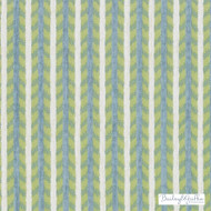 Bailey Griffin - 190241H-601 - Maluku Stripe - Aqua/Green  | Upholstery Fabric - Fire Retardant, Teflon, Fibre Blends, Stripe, Turquoise, Teal, Chenille, Commercial Use