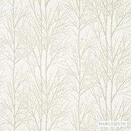 Harlequin Tabella 120246    Curtain Fabric - White, Floral, Garden, Harlequin, Natural Fibre, Transitional, Commercial Use, Domestic Use, Natural, White, Standard Width