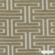 Bailey Griffin - Bu15837-282 - Minos - Bisque    Upholstery Fabric - Fire Retardant, Silver, Fibre Blends, Tan, Taupe, Commercial Use, Dry Clean, Fret, Greek Key
