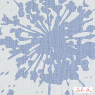 Lulu DK - Le42549-7 - Shine - Light Blue  | - Blue, Floral, Garden, Linen and Linen Look, Midcentury, Natural Fibre, Pink, Purple, Abstract, Dry Clean, Natural, Print