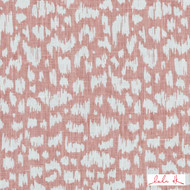 Lulu DK - Le42556-122 - Anka - Blossom  | - Linen and Linen Look, Midcentury, Natural Fibre, Pink, Purple, Small Scale, Abstract, Dry Clean, Natural, Print, Standard Width