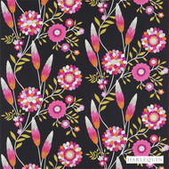 120219 'Flowers' | Curtain & Upholstery fabric - Fire Retardant, Floral, Garden, Harlequin, Midcentury, Natural fibre, Washable, Kids, Children, Many-Coloured, Domestic Use