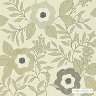 Harlequin Jena 110309    Wallpaper, Wallcovering - Floral, Garden, Harlequin, Midcentury, Commercial Use, Domestic Use