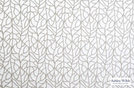 Ashley Wilde - Bowden - Cass Dove  | Curtain Fabric - Floral, Garden, Synthetic, Tan, Taupe, Dry Clean, Lattice, Trellis, Standard Width