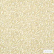 Linwood - Lf1628C_004 Maize  | Curtain & Upholstery fabric - Gold,  Yellow, Floral, Garden, Natural Fibre, Pattern, Washable, Domestic Use, Natural, Print, Standard Width