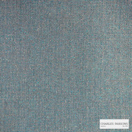 Charles Parsons Interiors - Billie Ocean    Upholstery Fabric - Blue, Plain, Synthetic, Uncoated, Weave, Commercial Use