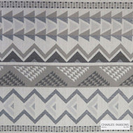 Charles Parsons Interiors - Warrior Stone    Upholstery Fabric - Beige, Geometric, Uncoated, Weave, Commercial Use, Domestic Use, Jacquards
