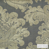 Charles Parsons Interiors - Ashridge Shadow    Curtain Fabric - Damask, Uncoated, Weave, Commercial Use