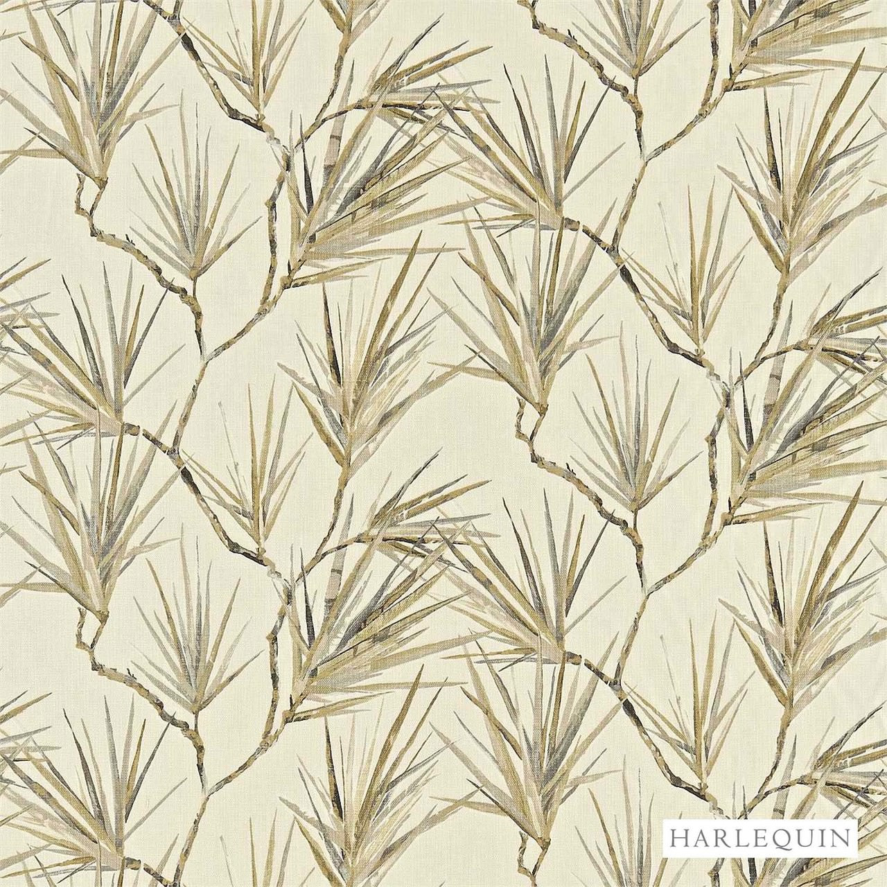 Harlequin Calliope 120159  | Curtain & Upholstery fabric - Beige, Beach, Fibre Blends, Floral, Garden, Harlequin, Domestic Use, Standard Width