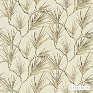 120159 ''   Curtain & Upholstery fabric - Beige, Fire Retardant, Beach, Fiber blend, Floral, Garden, Harlequin, Domestic Use, Suitable for Blinds, FR Treatable