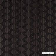 Harlequin Concept 130673  | Curtain & Upholstery fabric - Brown, Fire Retardant, Fiber blend, Geometric, Harlequin, Midcentury, Commercial Use, Domestic Use, FR Treatable