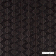 Harlequin Concept 130673  | Curtain & Upholstery fabric - Brown, Fire Retardant, Fiber blend, Geometric, Harlequin, Midcentury, Commercial Use, Domestic Use, FR Treatable, Suitable for Blinds