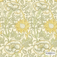 212569 'Rose' | - Fire Retardant, Gold - Yellow, Art Noveau, Craftsman, Floral, Garden, Many-Coloured, Commercial Use, Domestic Use