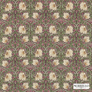 224491 'Pimpernel' | Curtain & Upholstery fabric - Fire Retardant, Art Noveau, Craftsman, Floral, Garden, Natural fibre, Pink - Purple, Commercial Use, Domestic Use