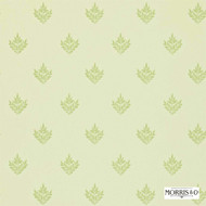 DMORPE102 'DMORPE102' | - Fire Retardant, Green, Craftsman, Floral, Garden, Foulard, Small Scale, Traditional, Commercial Use, Domestic Use
