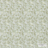 Morris and Co -  Arbutus 214717  | Wallpaper, Wallcovering - Fire Retardant, Green, Farmhouse, Floral, Garden, Domestic Use