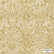220333 'Bluebell' | Curtain & Upholstery fabric - Fire Retardant, Gold - Yellow, Art Noveau, Craftsman, Damask, Natural fibre, Traditional, Commercial Use, Domestic Use