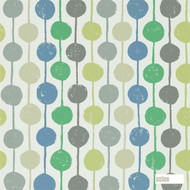 Scion Taimi 111121  | Wallpaper, Wallcovering - Blue, Fire Retardant, Green, Eclectic, Geometric, Multi-Coloured, Midcentury, Commercial Use, Domestic Use, Dots, Spots