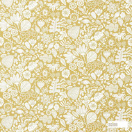 120383 ''   Curtain Fabric - Fire Retardant, Gold - Yellow, Craftsman, Farmhouse, Floral, Garden, Natural fibre, Commercial Use, Domestic Use, Natural, Suitable for Blinds