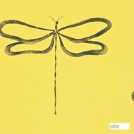110248 'Dragonfly' | - Fire Retardant, Gold - Yellow, Eclectic, Midcentury, Animals, Domestic Use, Animals - Fauna