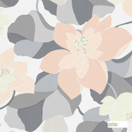 110862 ''   - Fire Retardant, Grey, Eclectic, Floral, Garden, Many-Coloured, Pink - Purple, Tan - Taupe, Commercial Use, Domestic Use