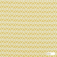 Scion Dhurrie 120179    Curtain & Upholstery fabric - Gold,  Yellow, Geometric, Midcentury, Natural Fibre, Chevron, Zig Zag, Domestic Use, Natural, Standard Width