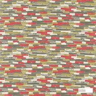 120213 '' | Curtain & Upholstery fabric - Fire Retardant, Eclectic, Midcentury, Natural fibre, Pattern, Many-Coloured, Abstract, Commercial Use, Domestic Use, Natural