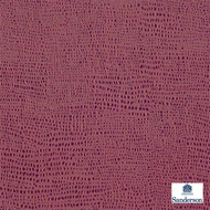 Sanderson Thea 232999  | Upholstery Fabric - Plain, Red, Organic, Synthetic, Commercial Use, Domestic Use, Standard Width
