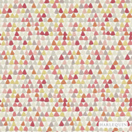 110674 '' | - Fire Retardant, Red, Diaper, Foulard, Harlequin, Midcentury, Red, Many-Coloured, Commercial Use