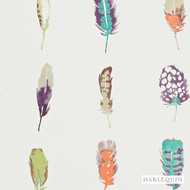 Harlequin Limosa 111073  | Wallpaper, Wallcovering - Blue, Contemporary, Harlequin, Animals, Animals - Fauna, Commercial Use, Feathers