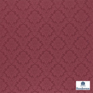 Sanderson Lymington Damask 232600  | Upholstery Fabric - Red, Damask, Natural fibre, Traditional, Commercial Use, Domestic Use, Natural