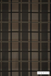 peg_14650-101 'Bronze' | Curtain Fabric - Brown, Check, Eclectic, Fiber blend, Geometric, Traditional, Domestic Use, Top of Bed
