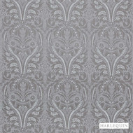 Harlequin Florence 131548  | Upholstery Fabric - Grey, Craftsman, Damask, Fibre Blends, Harlequin, Traditional, Transitional, Commercial Use, Domestic Use, Standard Width