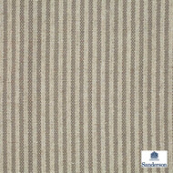 Sanderson Emiko 233561  | Upholstery Fabric - Fire Retardant, Fiber blend, Stripe, Tan, Taupe, Traditional, Commercial Use, Domestic Use, FR Treatable