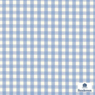 234122 '' | Upholstery Fabric - Blue, Fire Retardant, Check, Farmhouse, Gingham, Natural fibre, Traditional, Washable, Kids, Children, Commercial Use, Domestic Use, Natural