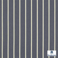 Sanderson Annis 232650  | Upholstery Fabric - Black - Charcoal, Fibre Blends, Stripe, Traditional, Commercial Use, Domestic Use, Standard Width