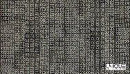 Unique Fabrics Zambesi Kirubi - Stone  | Curtain & Upholstery fabric - Black - Charcoal, Eclectic, Natural Fibre, Small Scale, Domestic Use, Natural, Standard Width