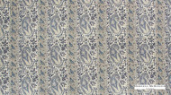 Hodsoll McKenzie Interiors   Portland Paisley  - 21146/374  | Curtain Fabric - Blue, Natural fibre, Paisley, Natural