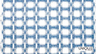 Uf_2035 'Blue' | Curtain Fabric - Blue, Eclectic, Natural fibre, Natural